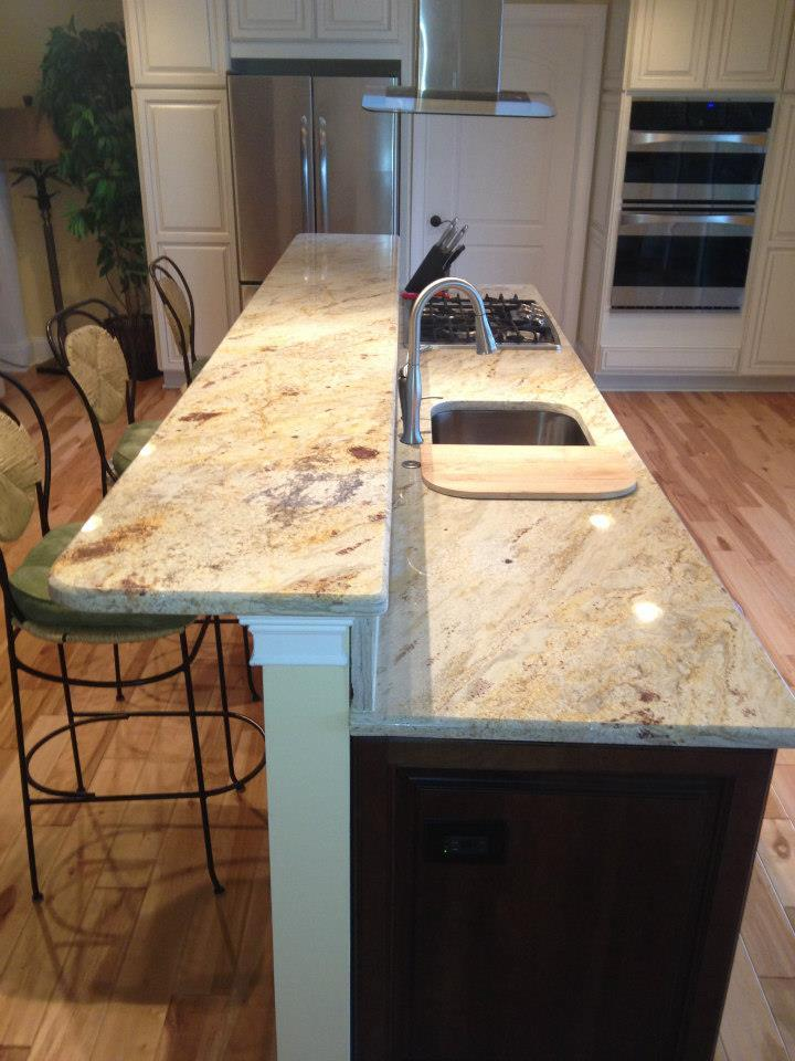 The Kitchen Countertop Debate Granite Vs Quartz Marble